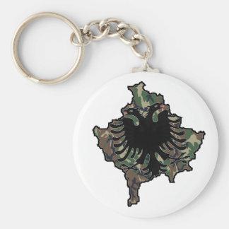 Kosovo Army key supporter Key Ring