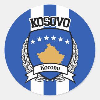 Kosovo Classic Round Sticker
