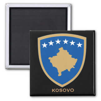 Kosovo Coat of Arms Magnet