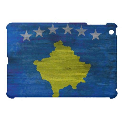 Kosovo distressed flag case for the iPad mini