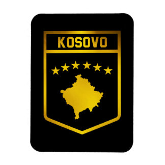 Kosovo Emblem Rectangular Photo Magnet