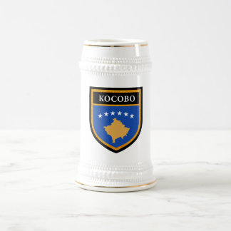 Kosovo Flag Beer Stein