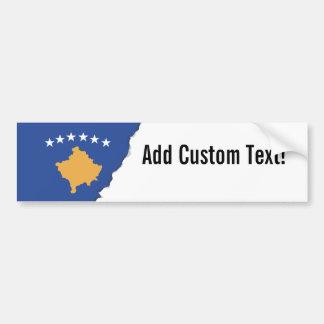 Kosovo Flag Bumper Sticker