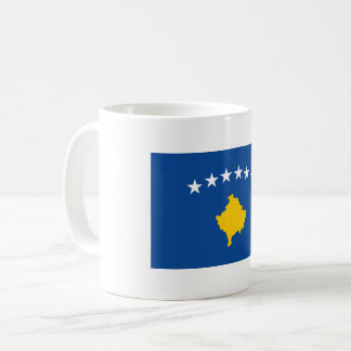 Kosovo Flag Coffee Mug