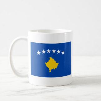 Kosovo Flag ~ Map Mug