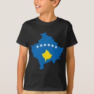Kosovo flag map T-Shirt