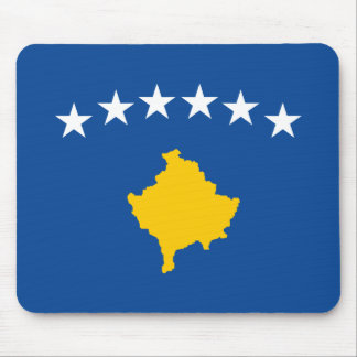 Kosovo Flag Mouse Pad
