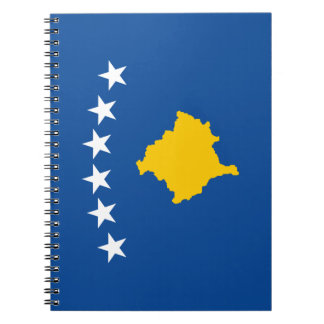 Kosovo Flag Notebook