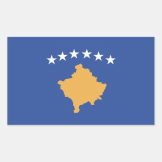 Kosovo Flag Rectangular Sticker