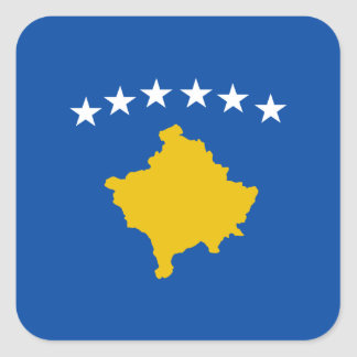 Kosovo Flag Sticker