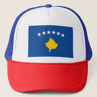 Kosovo Flag Trucker Hat