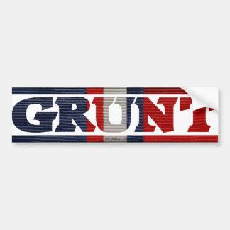 Kosovo GRUNT Campaign Ribbon Bumper Stickers