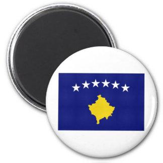 Kosovo National Flag 6 Cm Round Magnet