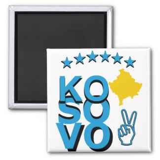 Kosovo Pride Square Magnet