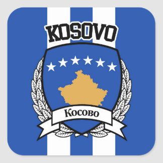 Kosovo Square Sticker