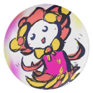 Kosumosu character, Hima Plates