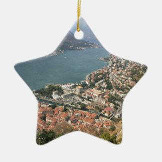Kotor, Montenegro Ceramic Ornament