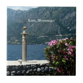 Kotor, Montenegro Ceramic Tile