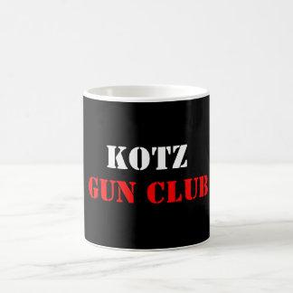 KOTZ, GUN CLUB BASIC WHITE MUG