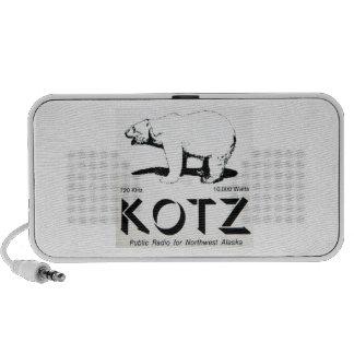 kotz logo notebook speaker