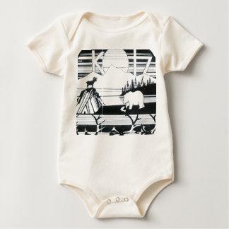kotz old logo baby bodysuit