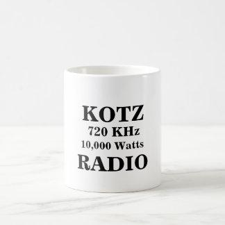 KOTZ, RADIO, 720 KHz, 10,000 Watts Basic White Mug