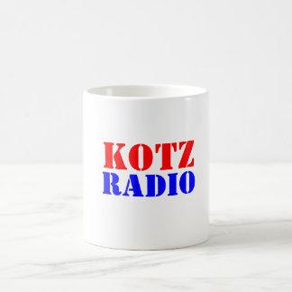 KOTZ, RADIO COFFEE MUG