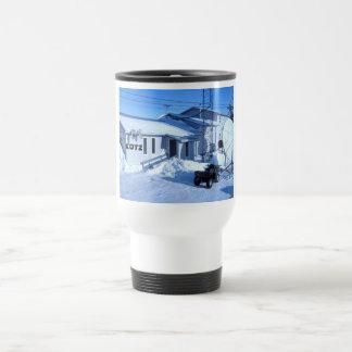kotz radio stainless steel travel mug