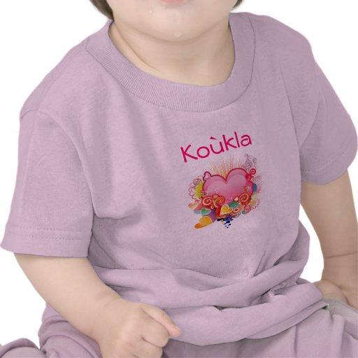 Koukla Retro-Heart-Design Shirts