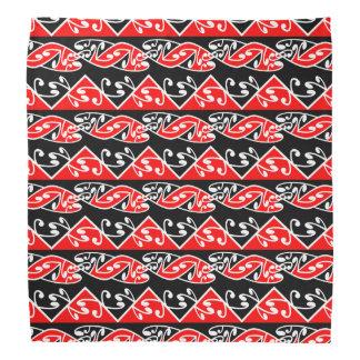 Kowhaiwhai Traditional Maori Koru Pattern Bandana