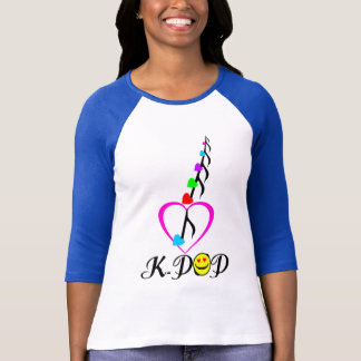 ╚»♪♥KPOP-Addiction 3/4 Sleeve Raglan(Fitted)♥♫«╝ T-Shirt
