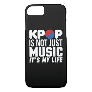 Kpop Is My Life Slogan Graphics (dark) iPhone 7 Case