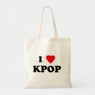 Kpop stock market tote bag