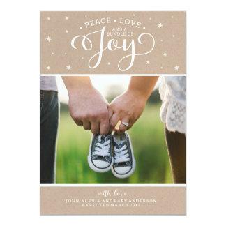 Kraft Christmas Pregnancy Announcement Card
