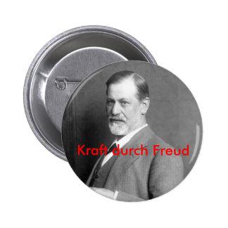 Kraft durch Freud 6 Cm Round Badge