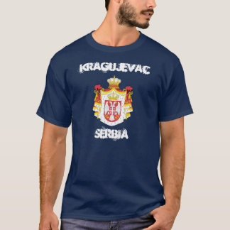 Kragujevac, Serbia with coat of arms T-Shirt