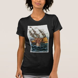 Kraken by Pierre Denys de Montfort, 1801 T-Shirt