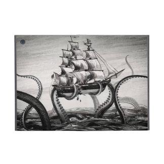 Kraken Holding Pirate/Sailing Ship iPad Mini Folio iPad Mini Case