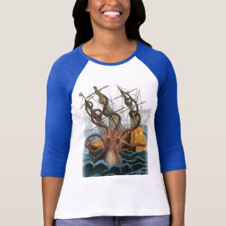 Kraken painting by Pierre Denys de Montfort, 1801 T-Shirt