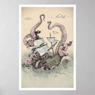 Kraken Poster