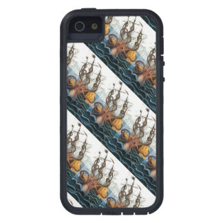 Kraken Steampunk Vintage Giant Octopus Pattern Case For iPhone 5
