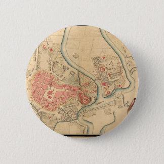 krakow1755 6 cm round badge