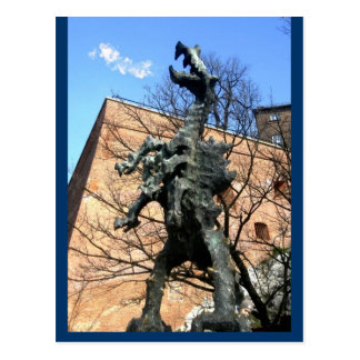 Krakow Dragon Postcard