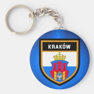 Kraków  Flag Key Ring