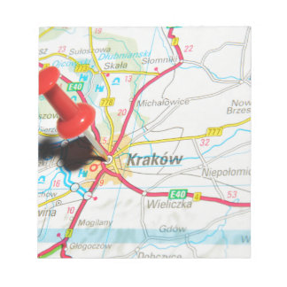 Kraków, Krakow, Cracow in Poland Notepad