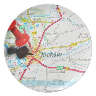 Kraków, Krakow, Cracow in Poland Plate