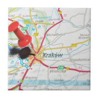 Kraków, Krakow, Cracow in Poland Tile