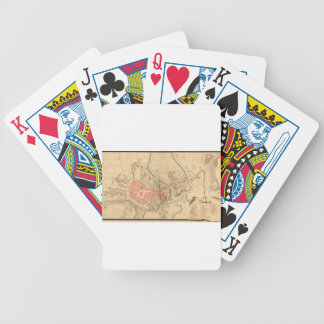 Krakow Poland 1755 Bicycle Playing Cards