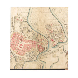 Krakow Poland 1755 Notepad