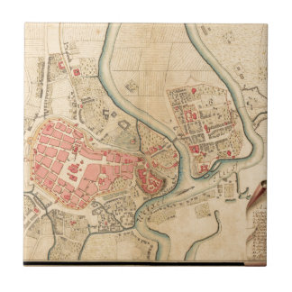 Krakow Poland 1755 Tile